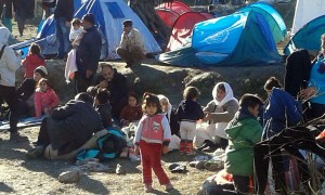 Greece.Moria camp