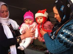 Greece.bookend babies